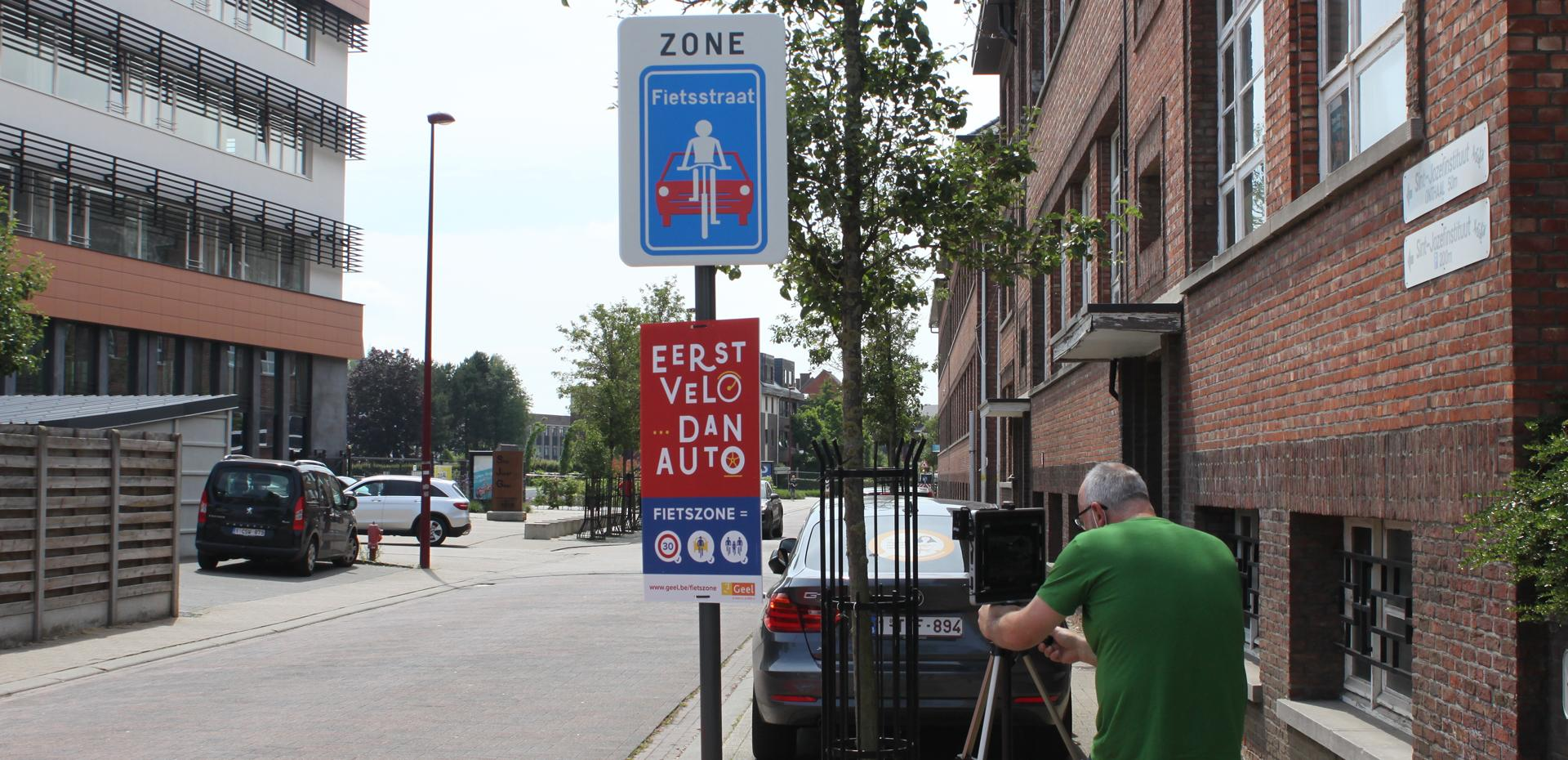stad Geel fietszone aroma communicatie videomarketing